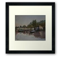 Still Water x 2 Framed Print
