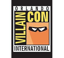 Orlando Villain Con - Minions Photographic Print