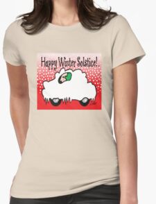 Happy Winter Solstice! Womens Fitted T-Shirt