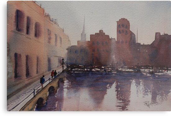 By the Docks by Pauline Winwood