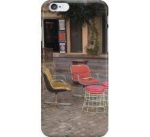 chairs iPhone Case/Skin