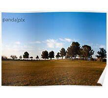 Tucson, AZ - Silverbell Lake Poster