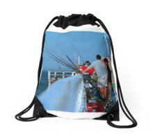 Catch of the Day Drawstring Bag