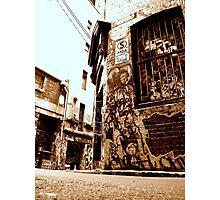 Down on da corner... Photographic Print