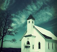 little church around the bend by clancy214