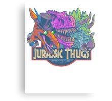 Jurassic Thugs Canvas Print