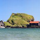 Dunaverty Bay Panoramic by Grant Glendinning