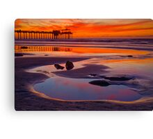Mirror of the Sky Canvas Print