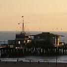 Santa Monica pier by Dalmatinka