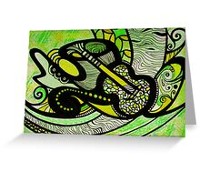 Lemon, Lime & The Blues Greeting Card