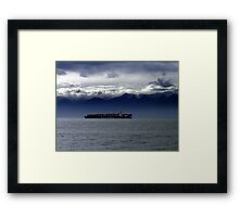 Nearing Port Framed Print