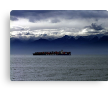 Nearing Port Canvas Print