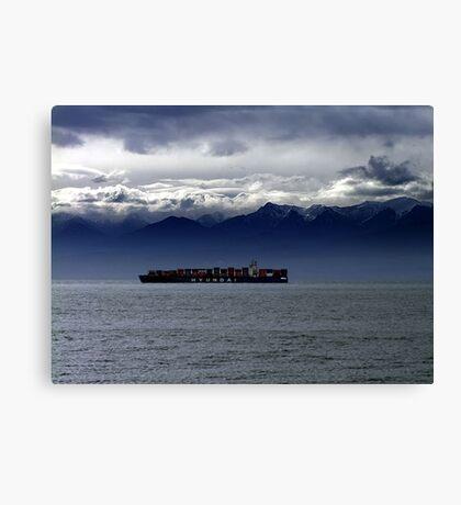 Nearing Port Canvas Print
