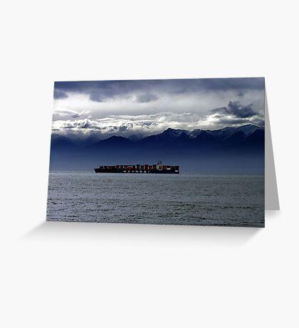 Nearing Port Greeting Card