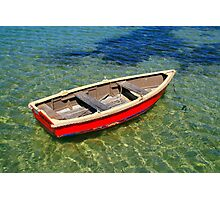 Harry's Boat - Sorrento Photographic Print