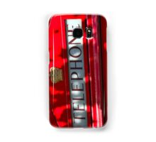 London telephone box Samsung Galaxy Case/Skin