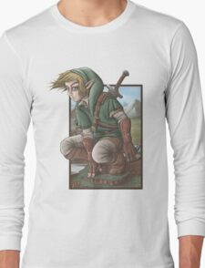 LINK has a nice view! Long Sleeve T-Shirt