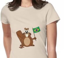 Brazilian Beaver Womens Fitted T-Shirt
