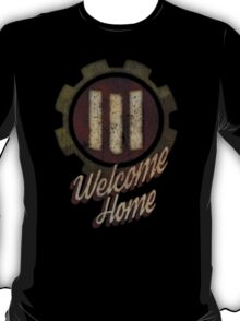 Fallout 4 Vault 111 Welcome Home (Pre War - Red) T-Shirt