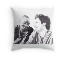 Scrubs - Turk & JD Throw Pillow