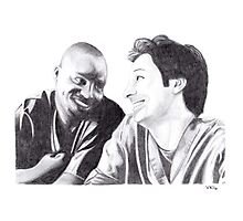 Scrubs - Turk & JD Photographic Print
