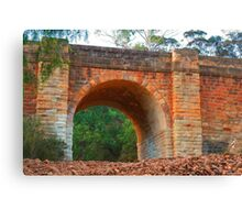 Old Djerriwarrh Creek Bridge Canvas Print