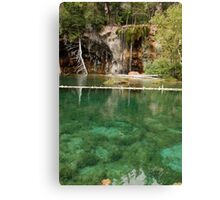 hanging lake - colorado Canvas Print