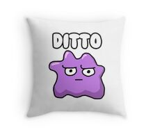 Ditto is Judging You  Throw Pillow