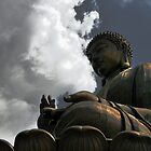 Big Buddha, Hong Hong by Cathy Grieve