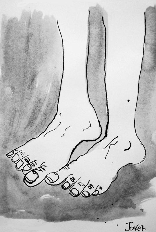 feet#1  by Loui  Jover