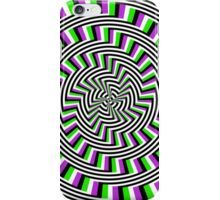 Self-moving Unspirals iPhone Case/Skin