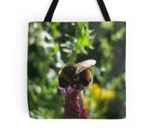 thistle bee Tote Bag