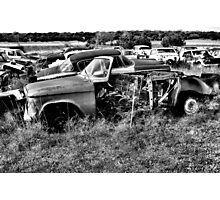Stripped ~ 2    ( BoneYard Series ) Photographic Print