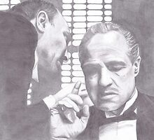 The Godfather - Don Corleone by vknight1989