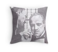 The Godfather - Don Corleone Throw Pillow