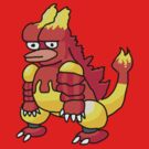 DISGRUNTLEDMON - MAGMAR by CarryOnWayward