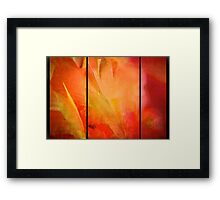 The Sensuality of Love Framed Print