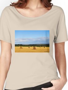 Summer Countryside Women's Relaxed Fit T-Shirt