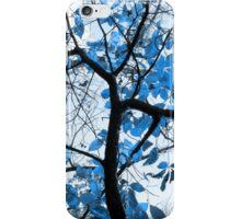 Cerulean Leaves iPhone Case/Skin