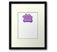 DISGRUNTLEDMON - DITTO Framed Print