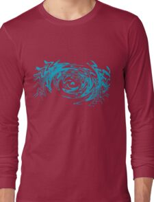 Avatar Blue Long Sleeve T-Shirt