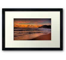 Just A Little Touch Of Paradise - Warriewood Beach, Sydney - The HDR Experience Framed Print