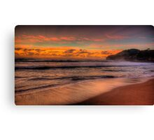Just A Little Touch Of Paradise - Warriewood Beach, Sydney - The HDR Experience Canvas Print