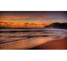Just A Little Touch Of Paradise - Warriewood Beach, Sydney - The HDR Experience Photographic Print