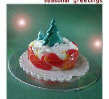 a seasonal card by Babz Runcie