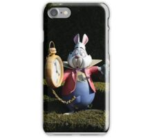 I'm late, I'm late! iPhone Case/Skin
