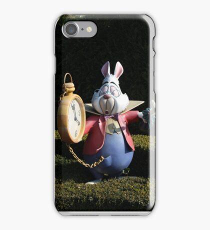 I'm late, I'm late! iPhone Case/Skin
