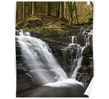 Waterfall in Talybont Poster