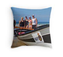 Lorne girls at Fairhaven Throw Pillow