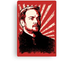 Crowley - King of Hell Canvas Print